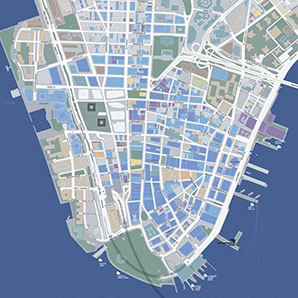 Downtown Brooklyn detailed map