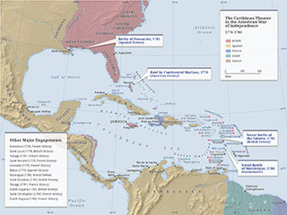 American War of Independence – Caribbean Theater